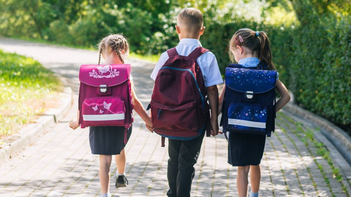 Choosing when to start your children at 'big school' is not always easy, especially when your children have birth dates very early in the year. Photo file