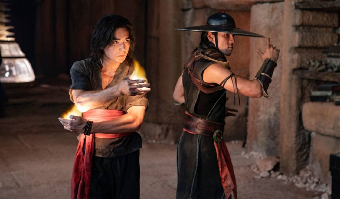 From game to film: Ludi Lin and Max Huang star as Liu Kang and Kung Lao in Mortal Kombat, rated R18+, in cinemas now. Picture: New Line Cinema