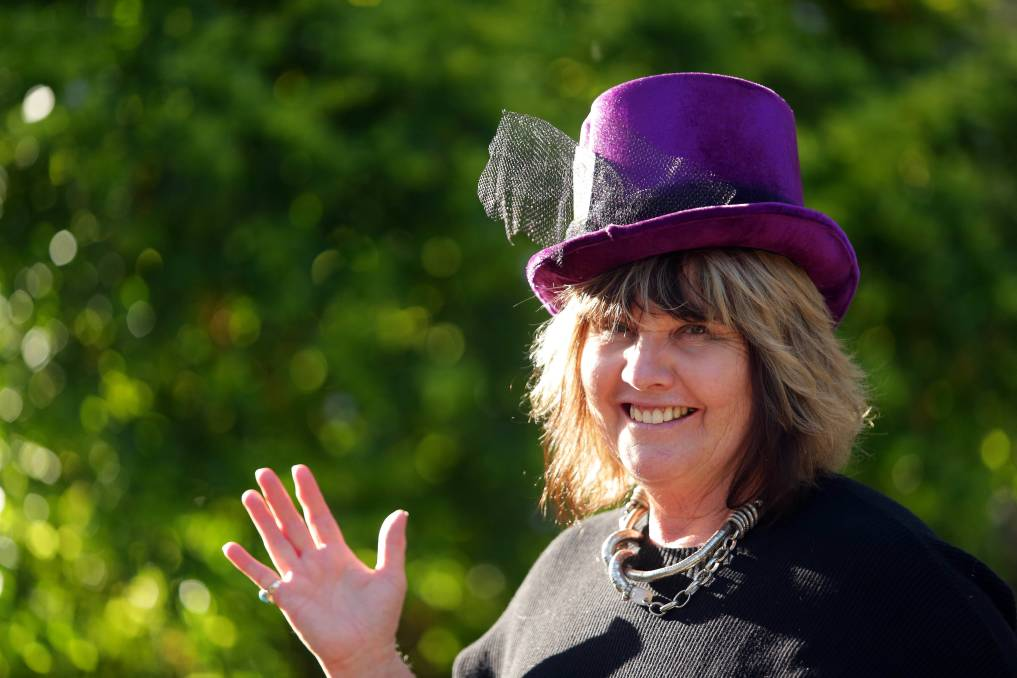 The Mad Hatters event supporting mental health is on again and Sandra McDonald wants to see as much money and awareness raised as possible. Picture: Chris Lane