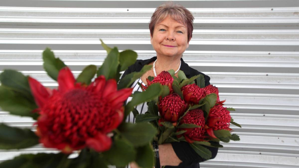 Support needed: Beautiful Minds president Cheryl Paradella is urging locals to buy a flower on Waratah Day to  raise awareness and funds. Picture: Simon Bennett