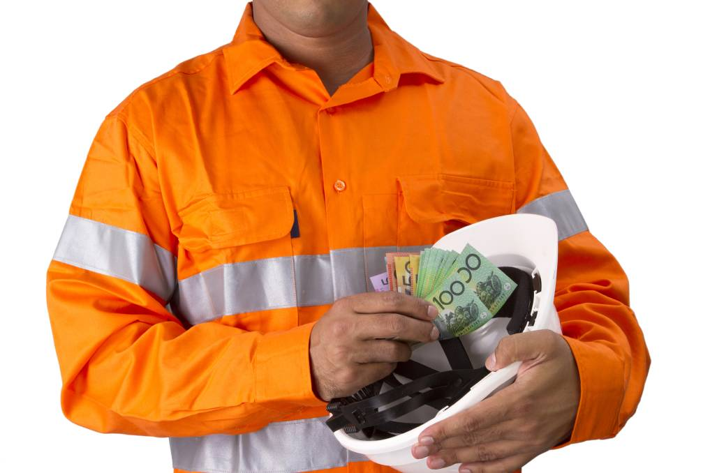 No more cash payments: Mr Levitt said the NPP will be a game changer for the ATO, tradies and, best of all, consumers.
