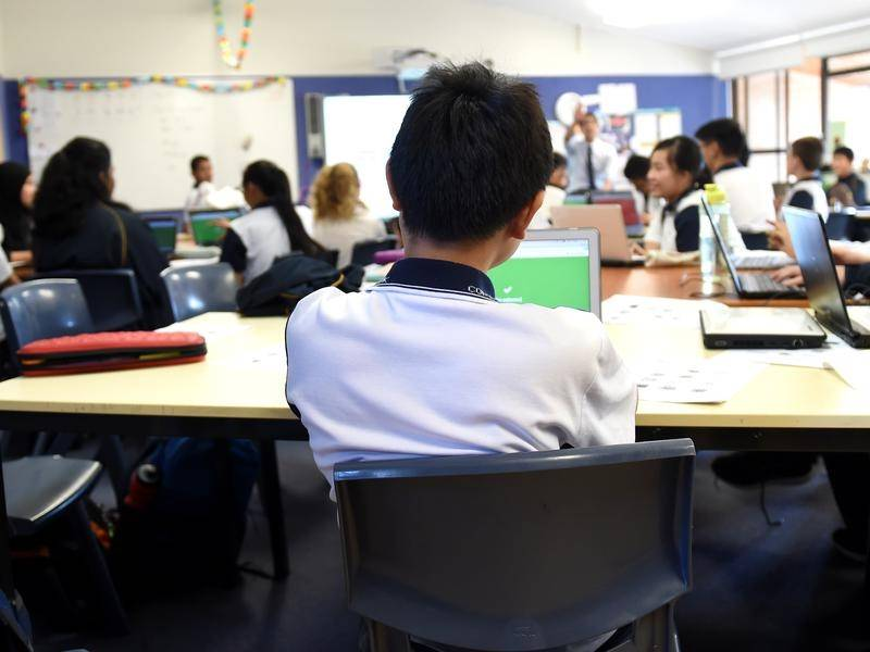 The NSW government is accused of not providing the resources needed to manage student behaviour.